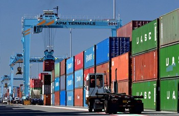 port elizabeth new jersey shipping terminal containers