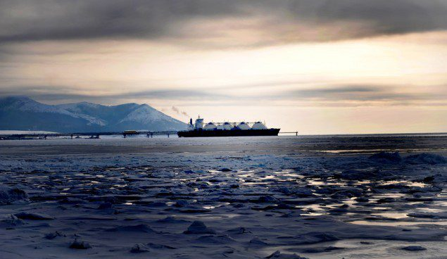 Sakhalin1 LNG carrier shell
